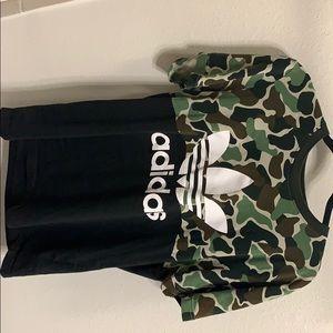 Adidas Shirt Men's XL camouflage